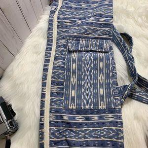 Prana Yoga Bag in Blue Tapestry